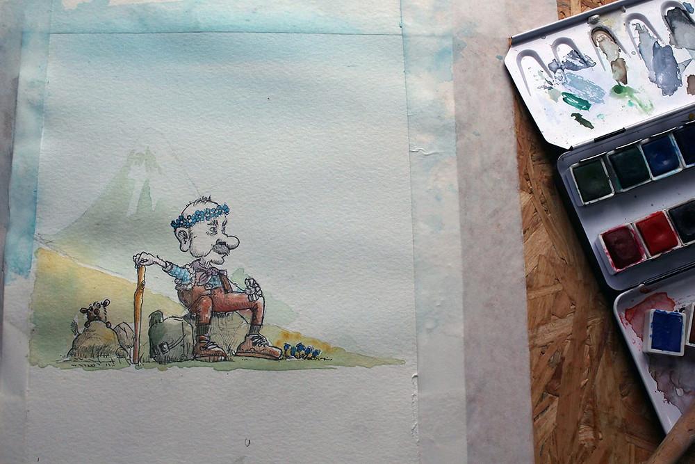 malen painting illustration friday