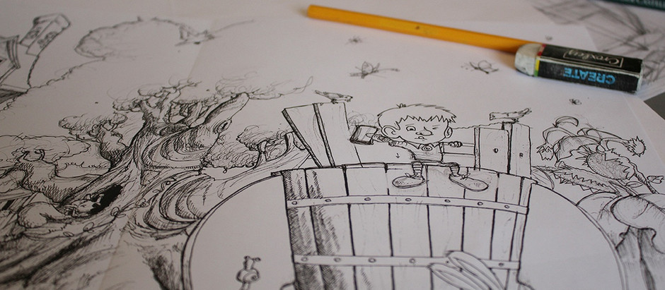 Mein Kinderbuch Projekt – Der lange Weg zum eigenen Buch – Teil 1