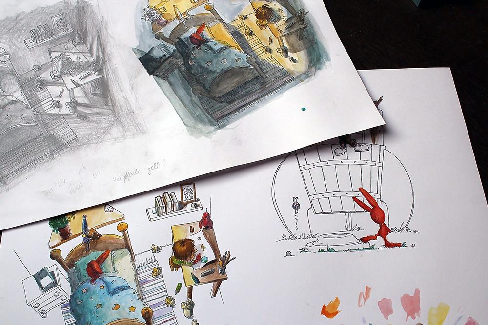 Kinderbuch Farbstudien