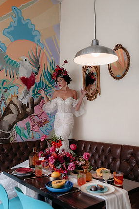 Bar Tocador Cuban inspired styled shoot0
