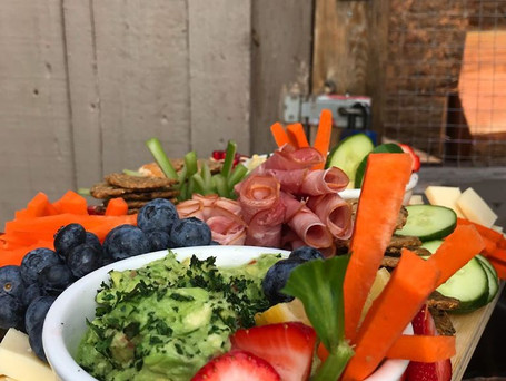 Veggie and Meat Platter
