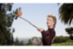 Célébrités avec perroquet - Jane Fonda