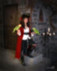 Martine Laplante propriétaire de Perroquet Pirate