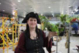 Martine Laplante prpriétaire de Perroquet Pirate