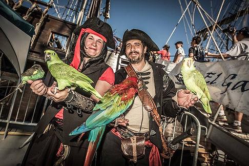 Propriétaires Perroqet Pirate