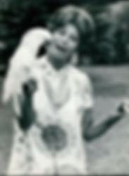 Célébrités avec perroquet - Margaret Mead