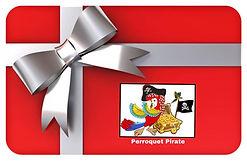Certificat Cadeau Perroqet Pirate