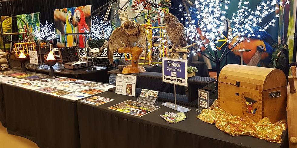 Salon des animaux exotiques de Saguenay : 8ième édition