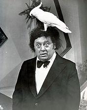 Célébrités avec perroquet - Marty Allen