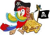 Logo Perroquet Pirate