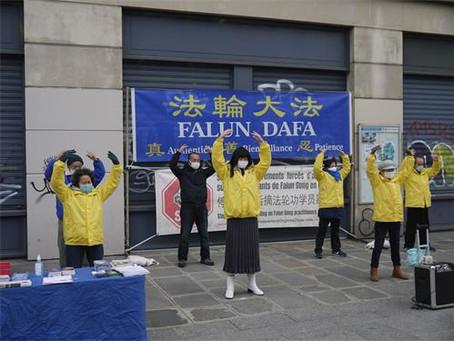 法国外交部长:高度关注法轮功在中国遭受迫害