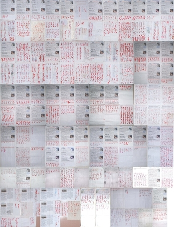 2014年2月以来,河北省衡水地区,天津部分地区近六千民众,以签名,按手印的方式谴责中共活摘法轮功学员器官的惊天罪行。(大纪元)