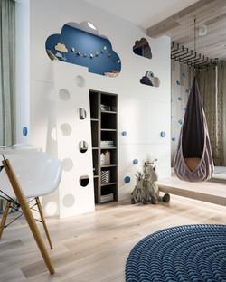 Children's room in Staropishminsk