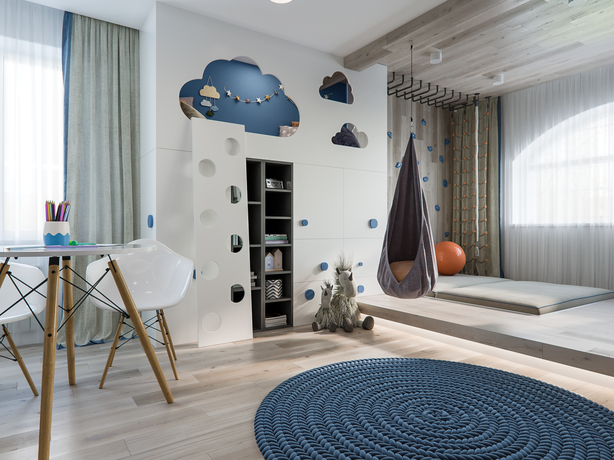 Children's room in Staropishminsk