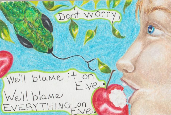 c2020MiraLeaRinehart RA blame it on eve