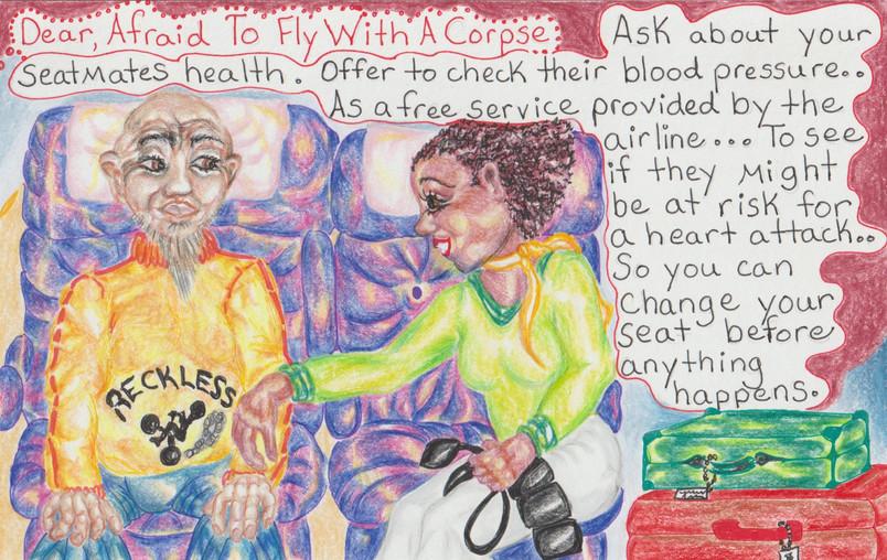 DAS 2 Afraid To Fly With A Corpse copyri