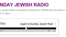 Sunday Jewish Radio's interview with DJFirst's founder