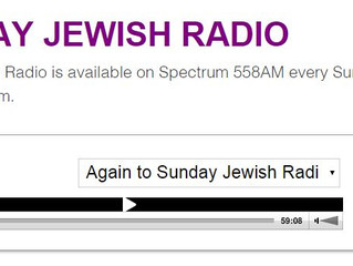 Sunday Jewish Radio's interview with DJFirst's founder