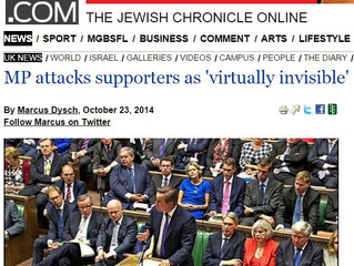 MP roundly condemns Jewish Community's lack of presence in social media
