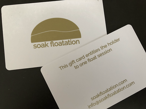 Float gift card (DELIVERY)