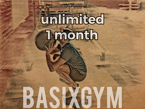 Unlimited Membership 1 month