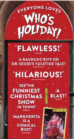 Who's Holiday! - Press Poster
