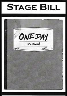 One Day - Playbill.jpg