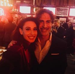 With Lesli Margherita