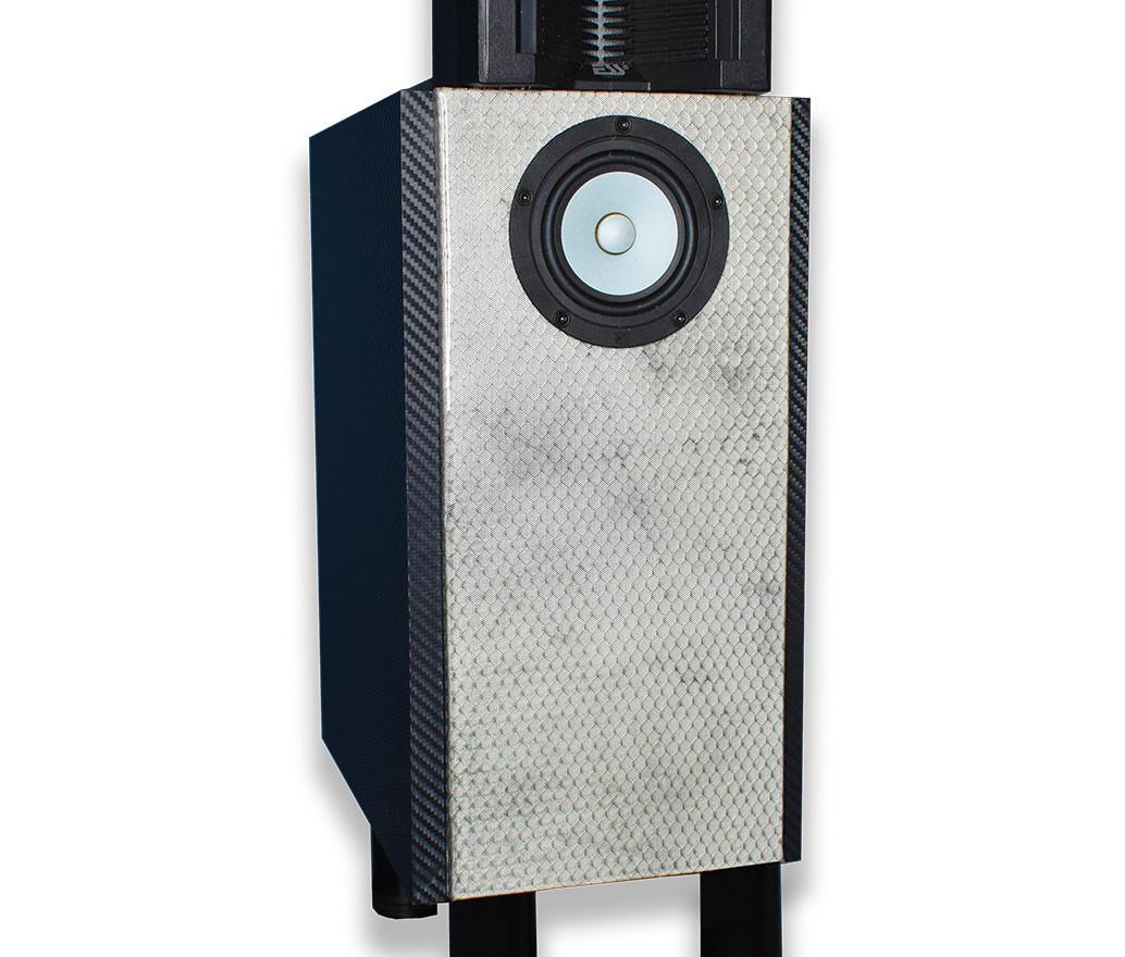 Silver Blade Speaker