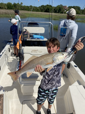 Schools out! It's time to take the kids fishing.