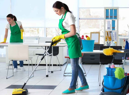 Which kind of services do the cleaning services company offers in Calgary?
