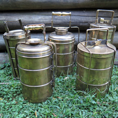 Tiffin boxes brass India