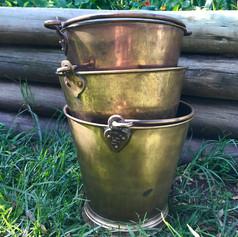 Brass buckets India