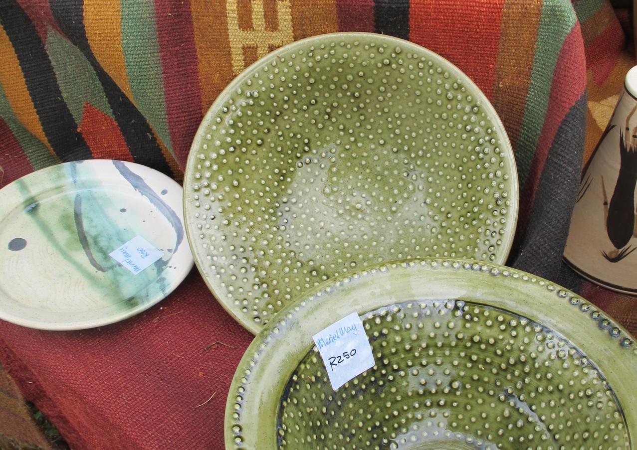 Meriel May's pots