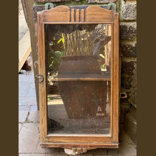 Small Cabinet with glass-front