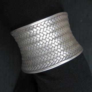 Silver bracelet Hill tribes Thailand