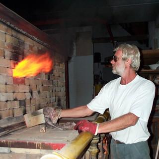 Digby reducing the kiln