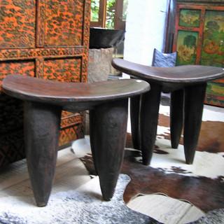 Senufo stools Ivory Coast