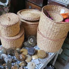 Vetiver baskets Madagascar