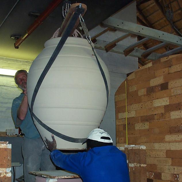 Using the hoist