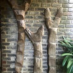 Wooden ladders Mali