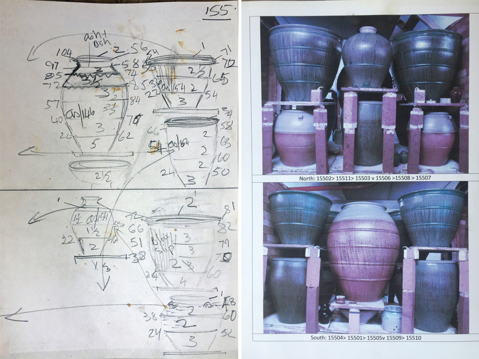 Documentation of each firing