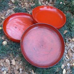 Lacquer plates Burma