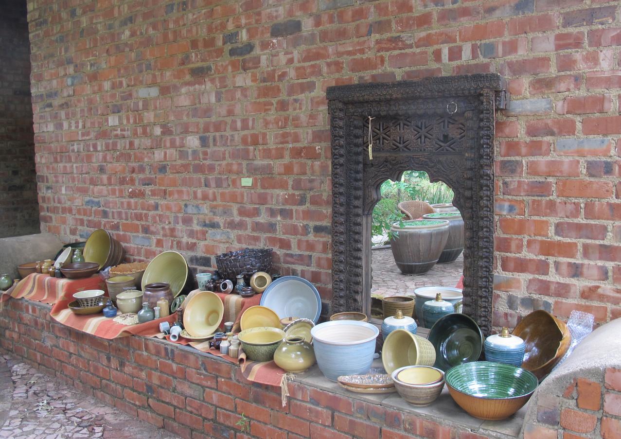 Pots by Ian Napier