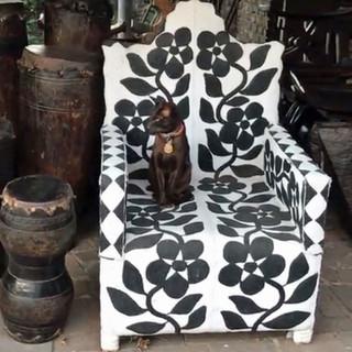 Yoruba chair