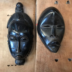 Baule and Dan Mask Ivory Coast