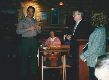 Feb - Bob retirement party