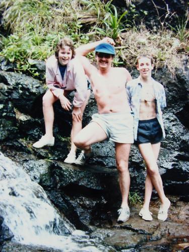 April - Tracy, Bob, Brian