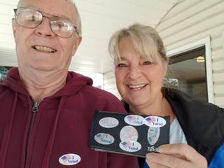 Bob & Kath vote