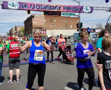 Bloomsday - Kath finishes!